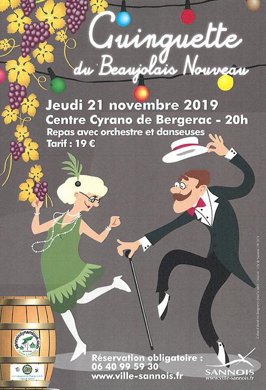 Ginguette du Beaujolais (Le 21 novembre 2019)