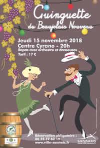 Ginguette du Beaujolais (Le 15 novembre 2018)