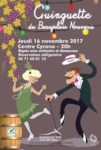 Ginguette du Beaujolais (Le 16 novembre 2017)